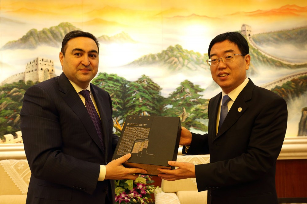 'China considers Azerbaijan as one of the key priorities in tourism cooperation'