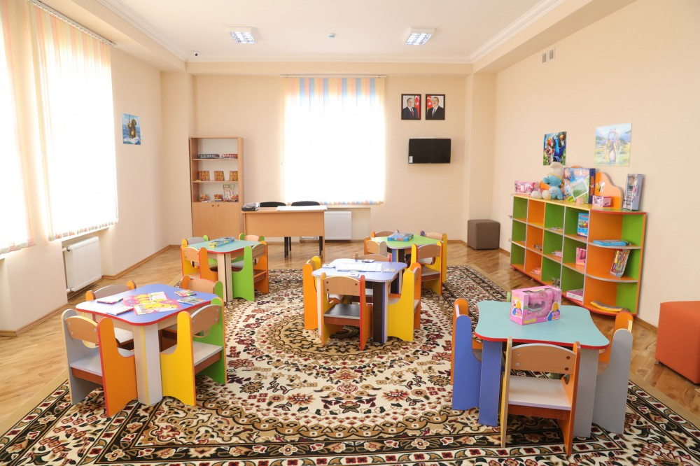 First Vice-President Mehriban Aliyeva attended opening of newly-renovated orphanage-kindergarten No 80 in Narimanov