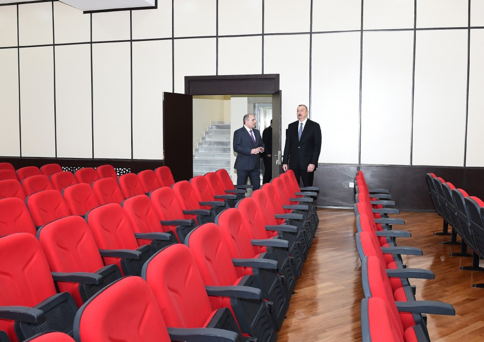 President Ilham Aliyev attended opening of new administrative building of Baku City Statistics Department VIDEO