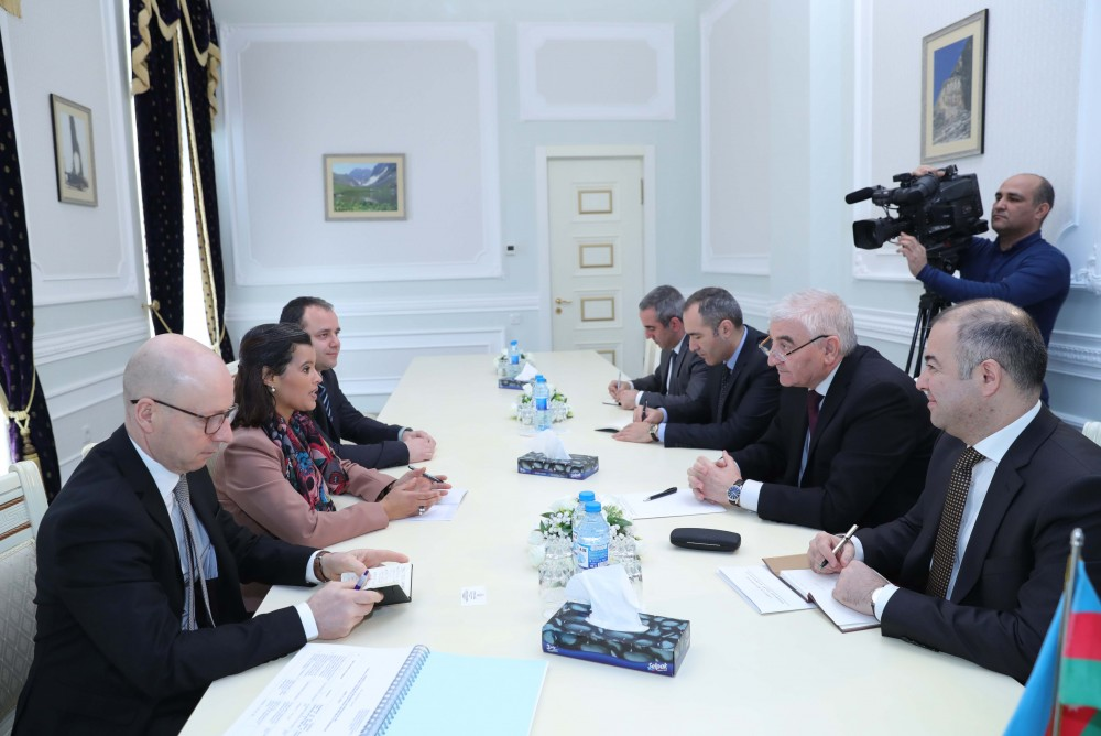 Azerbaijani chief electoral officer meets with OSCE PA delegation