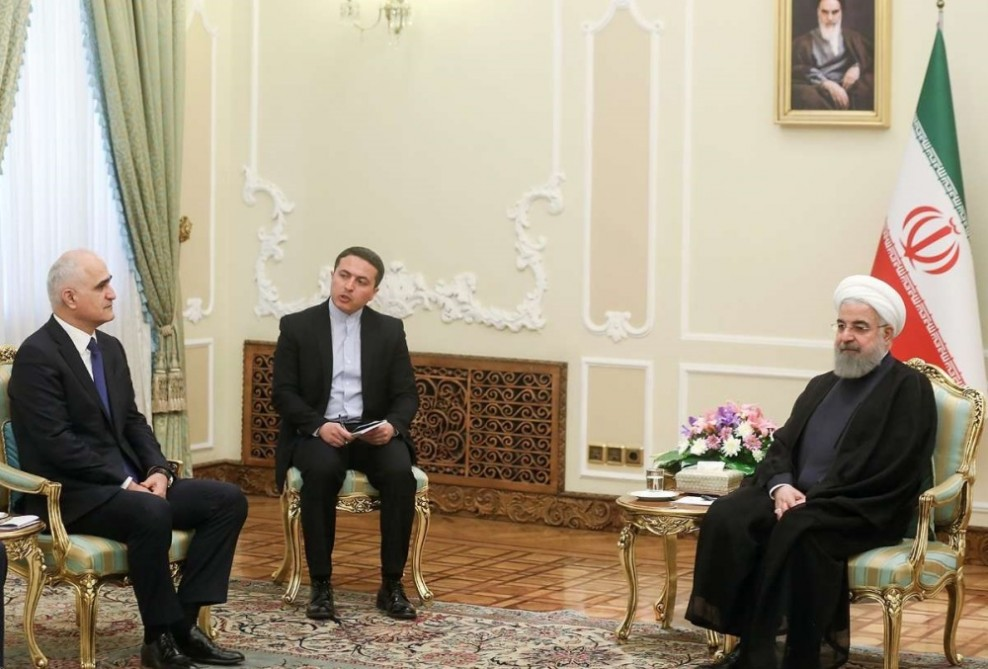 President Rouhani: Development of stability and security in Azerbaijan is considered as Iran's stability and security