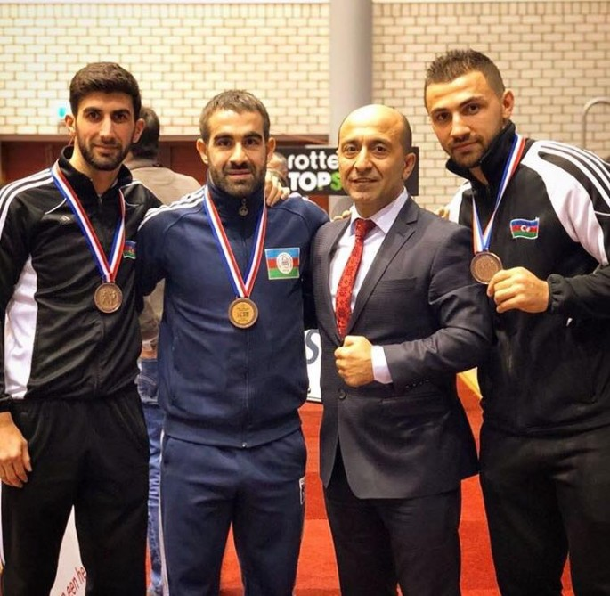 Azerbaijani fighters win three bronzes at Karate1 Premier League - Rotterdam 2018