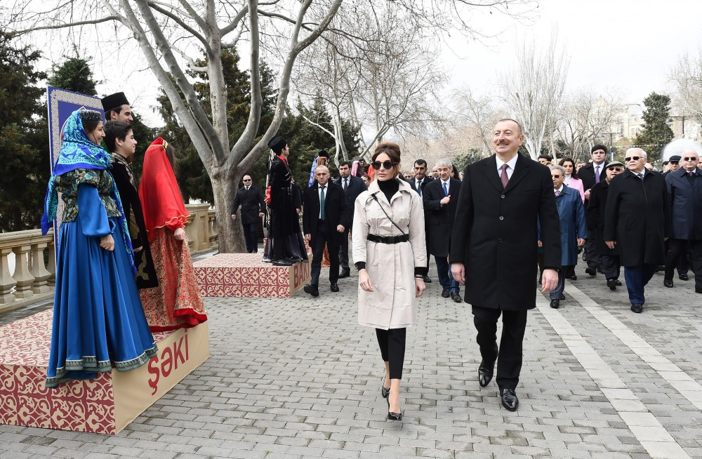 President Ilham Aliyev joined nationwide Novruz festivities VIDEO