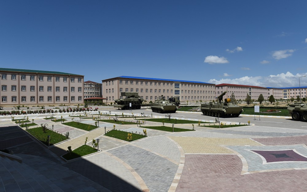 President Ilham Aliyev viewed Combined Army Unit's training and educational center and inaugurated newly built military hospital VIDEO
