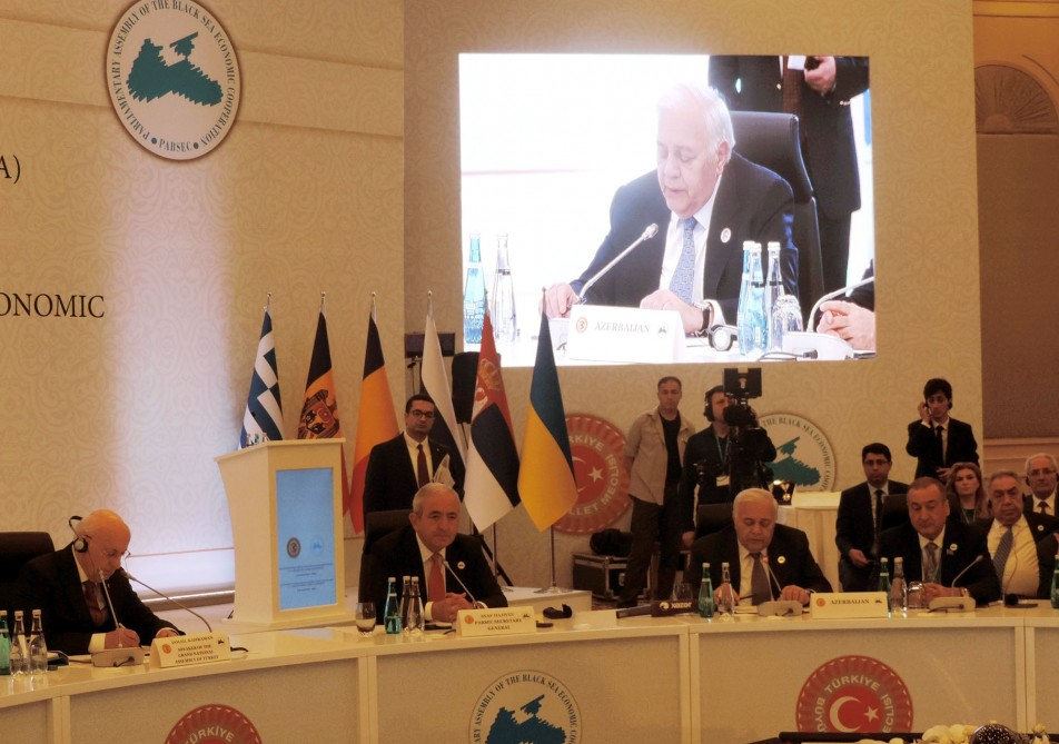 25th anniversary summit of PABSEC Parliament Speakers held in Istanbul