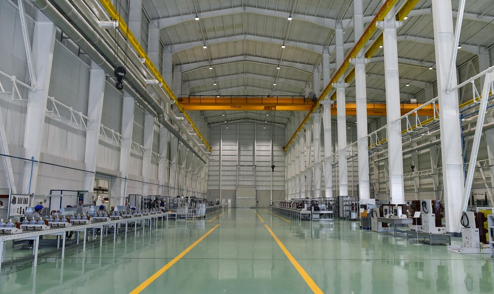 President Ilham Aliyev inaugurated high-voltage equipment plant in Baku VIDEO