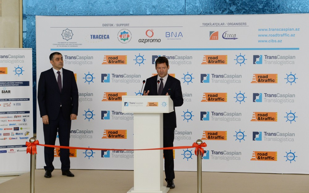 17th Caspian International Transport, Transit and Logistics Exhibition opens in Baku