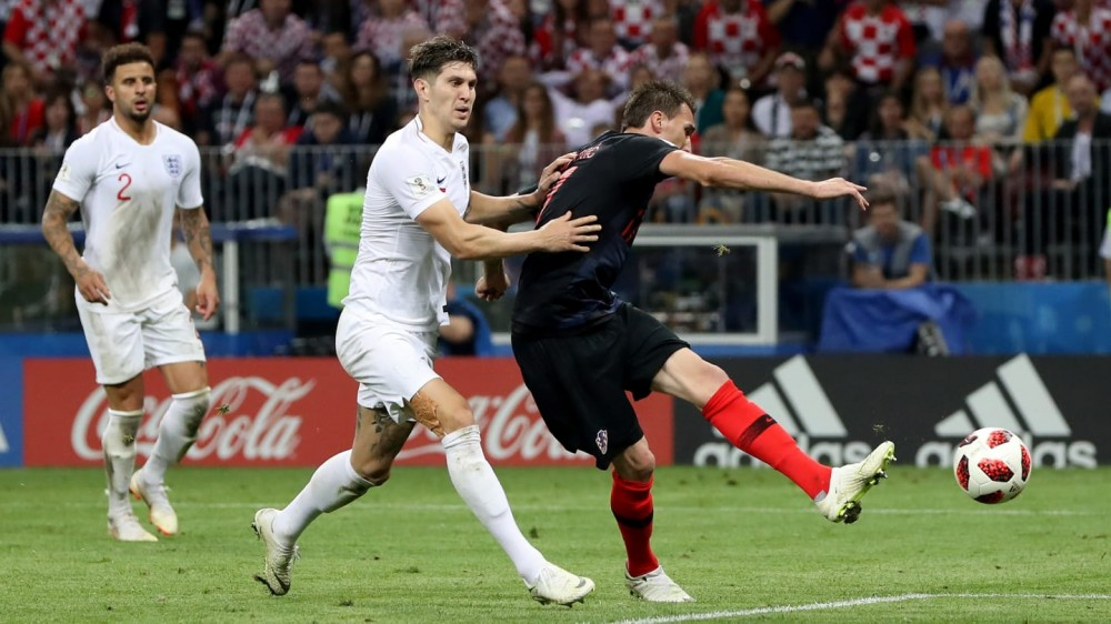 Croatia pairs France in 2018 FIFA World Cup final after 2-1 win over England