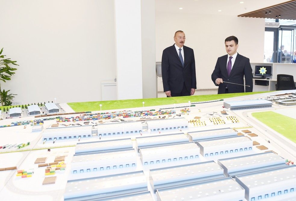 President Ilham Aliyev attended opening of Absheron Logistics Center VIDEO