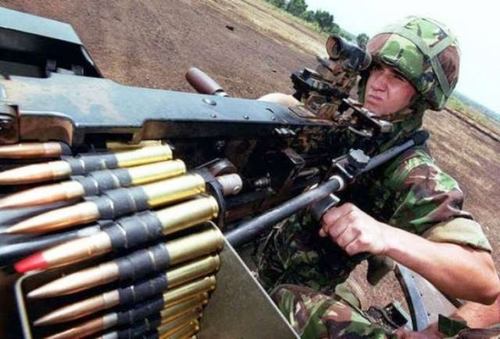 Azerbaijan`s Defense Ministry: Armenian armed units violated ceasefire 87 times