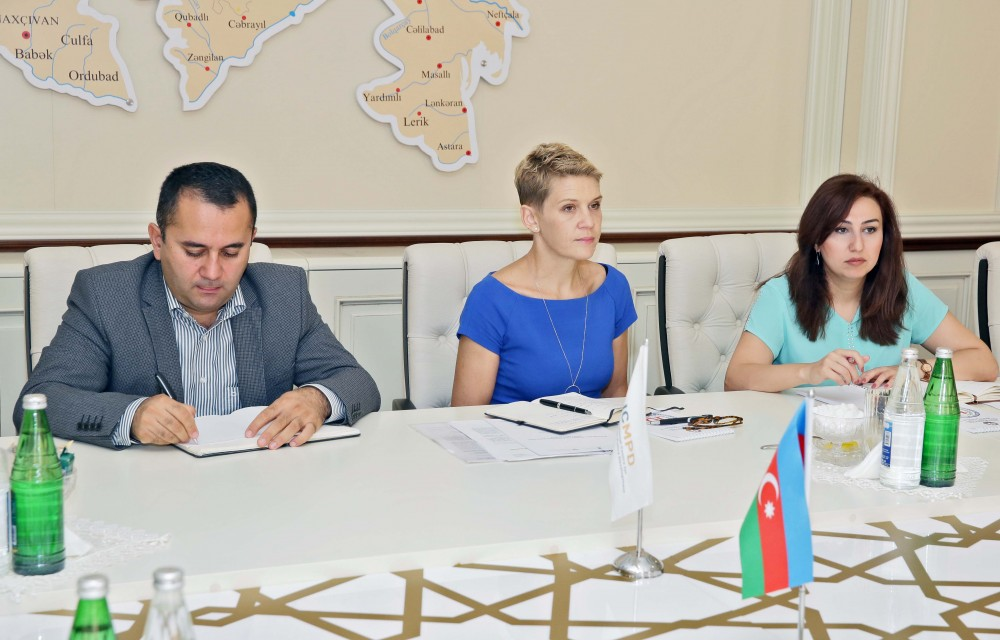 Chief of Azerbaijan`s State Migration Service meets MOBILAZE coordinator