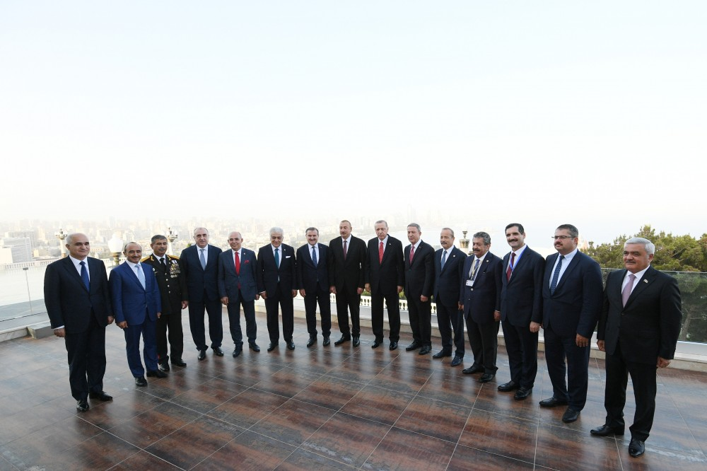 Presidents of Azerbaijan and Turkey had joint working dinner VIDEO