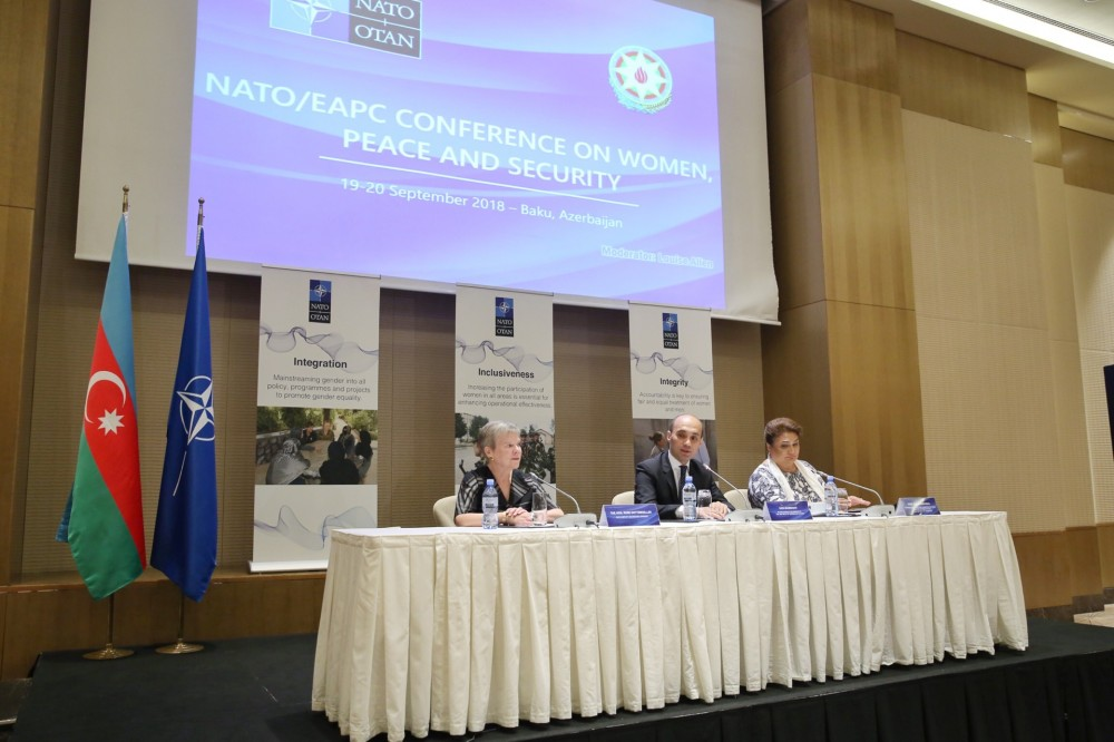 Baku hosts conference on women, peace and security