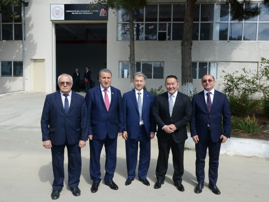 President of Mongolia visits High-Tech Park of Azerbaijan National Academy of Sciences