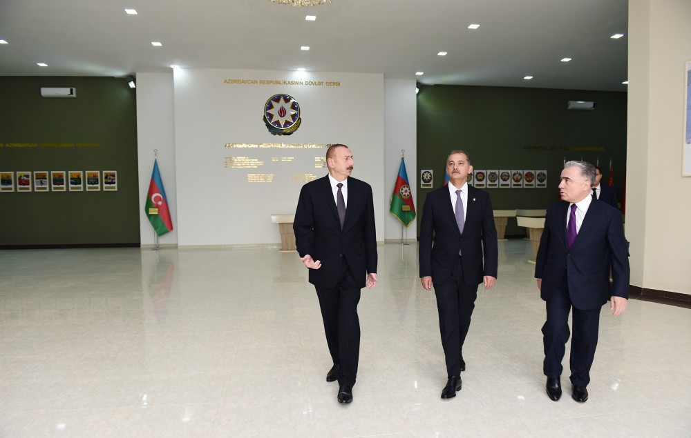 President Ilham Aliyev inaugurated Flag Museum in Imishli VIDEO