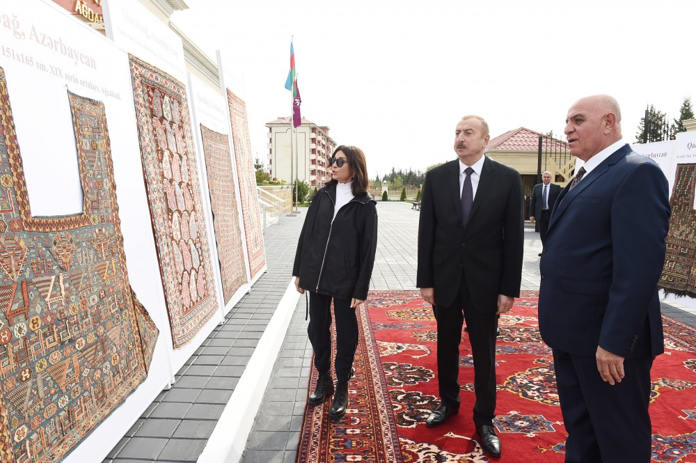 "President Ilham Aliyev inaugurated Aghdam branch of ""Azerkhalcha"" OJSC VIDEO"