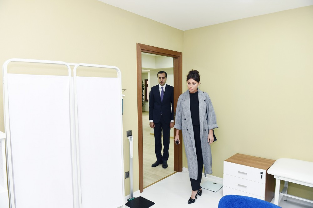 "First Vice-President Mehriban Aliyeva attended opening of ""Jirtdan"" Recreation and Wellness Center after renovation"