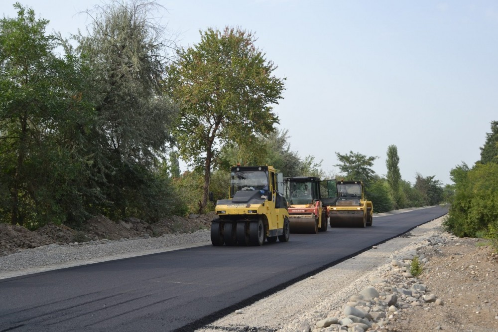 President allocates funding for construction of road in Gusar