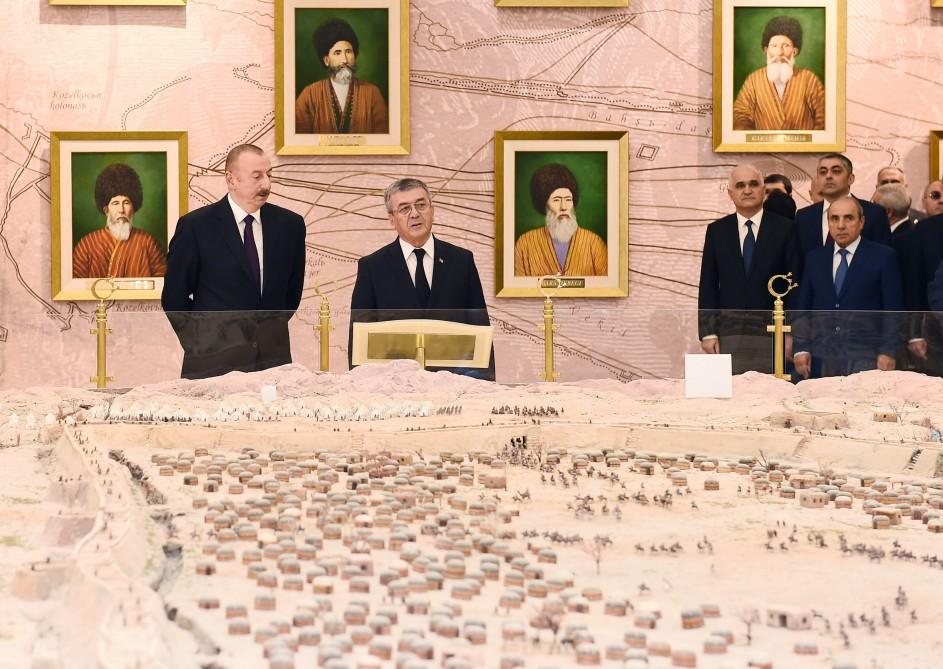President Ilham Aliyev visited memorial complex 'People's memory' in Ashgabat VIDEO