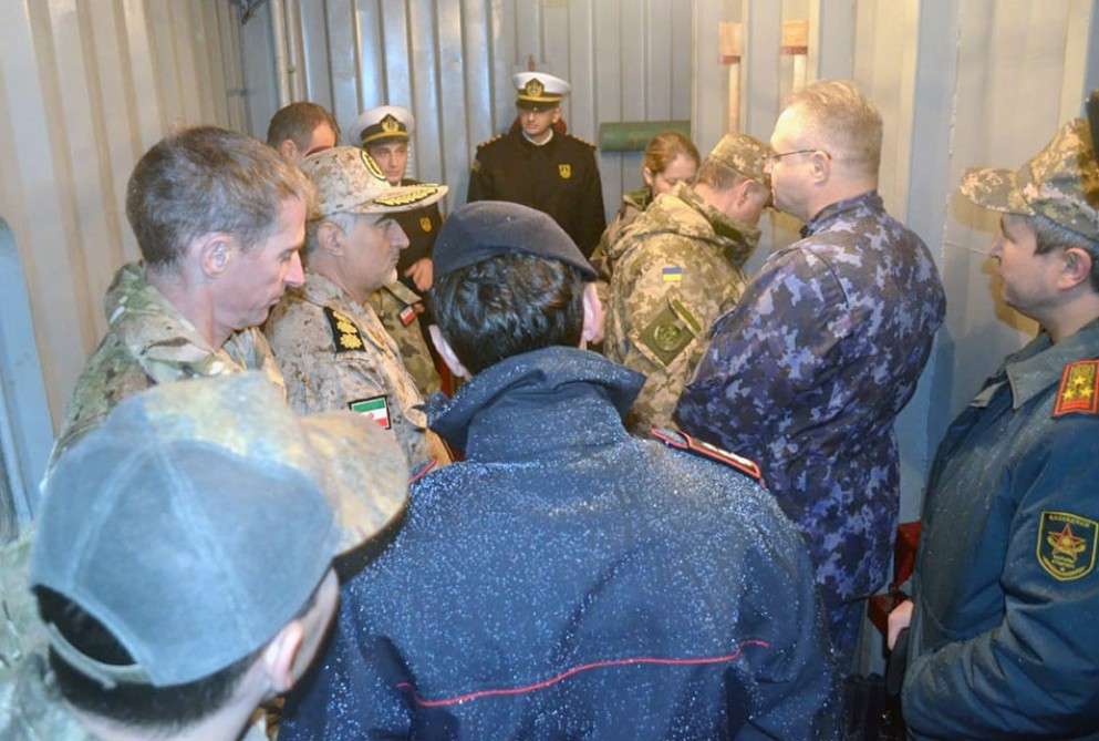 Military attachés of foreign countries in Azerbaijan visit military unit