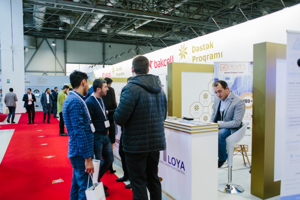"®  Bakcell supports participation of small and medium business entities at ""Bakutel 2018"" exhibition"
