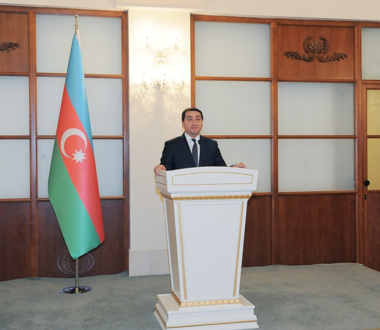 Heads of diplomatic corps in Azerbaijan attend reception on 2018 results