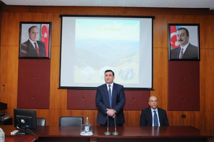 """ADNSU """"Azərbaycan İnterneyşnl Mayninq Compani Limited"""" şirkəti ilə əməkdaşlıq edəcək"""
