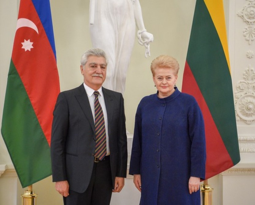 Lithuanian President: Azerbaijan is an important partner for Europe