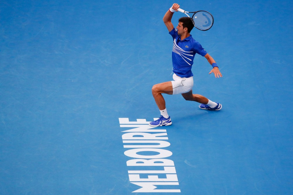 Novak Djokovic crushes Lucas Pouille to reach Australian Open men's final