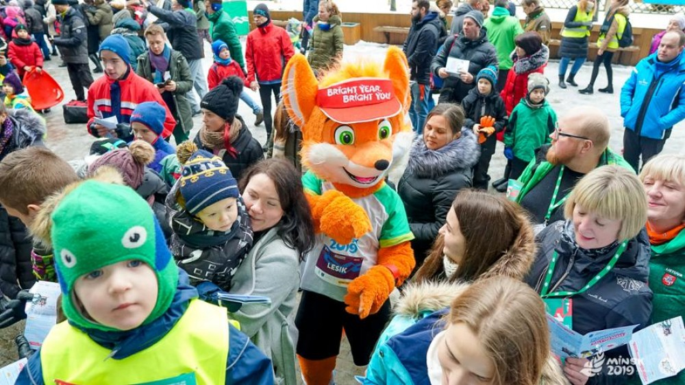 Lesik the Baby Fox wins international mascot competition