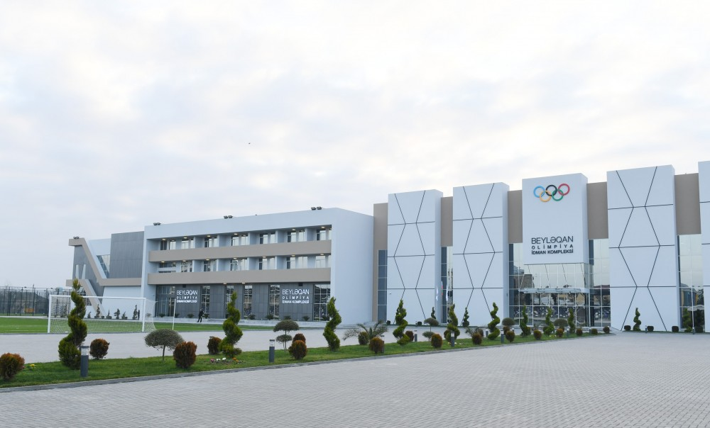 President Ilham Aliyev opened Beylagan Olympic Sport Complex VIDEO