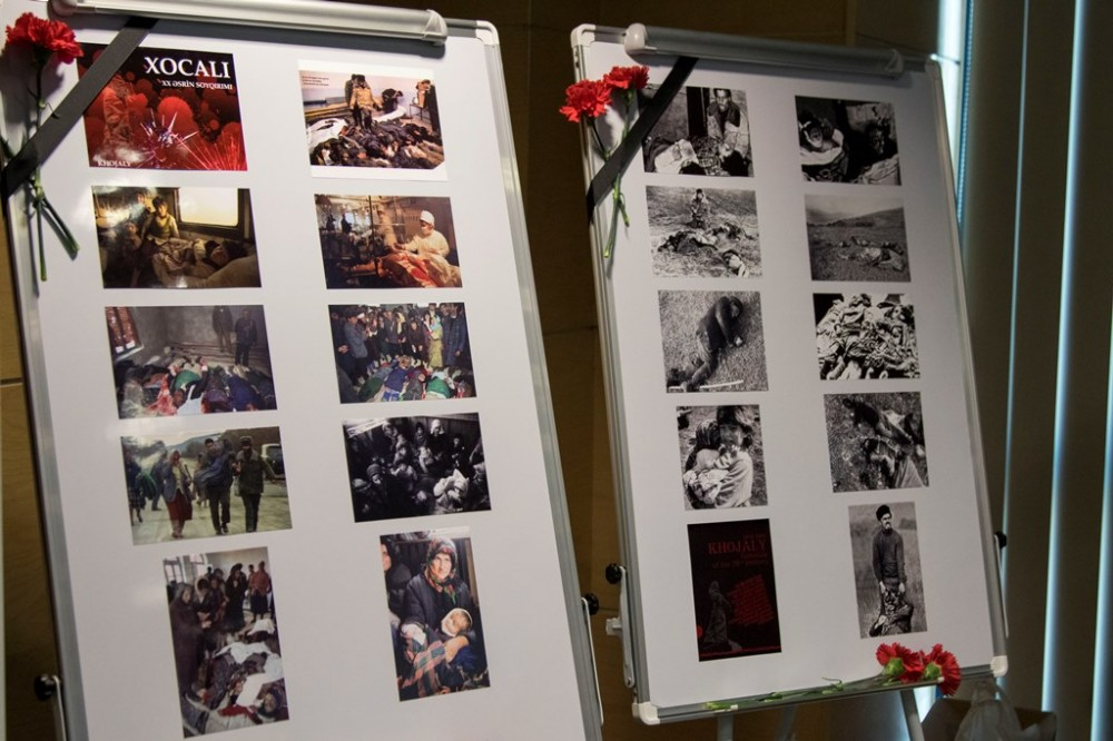 Khojaly genocide victims commemorated in Romania VIDEO