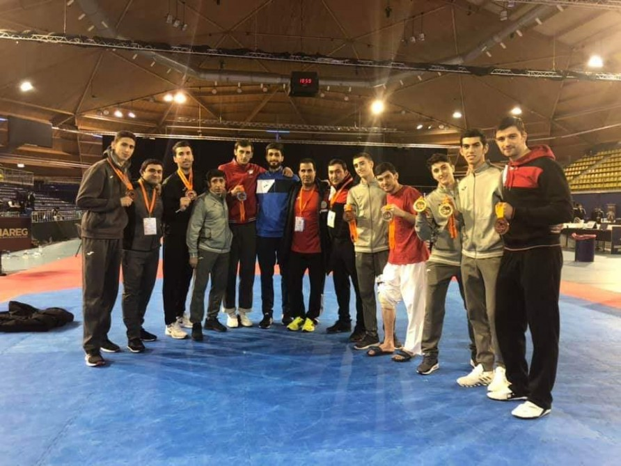 Azerbaijani taekwondo fighters win 8 medals in Netherlands