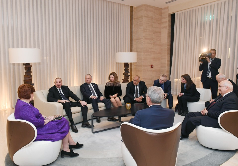 Reception was hosted for participants of 7th Global Baku Forum VIDEO