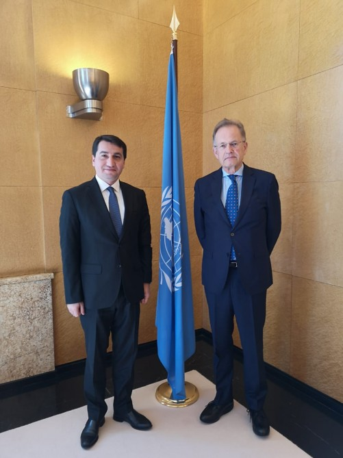 Azerbaijan, UN discuss cooperation