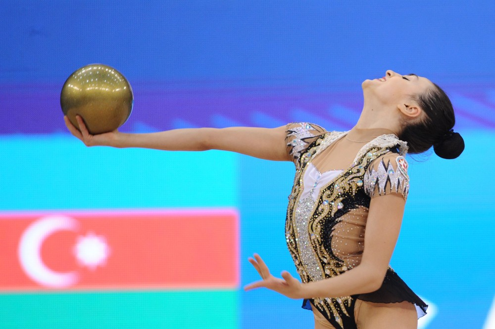 Azerbaijani gymnast wins bronze at AGF Junior Trophy