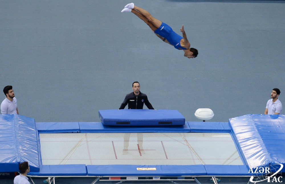Azerbaijan`s Malkin advances to final stage of World Cup in Trampoline Gymnastics and Tumbling