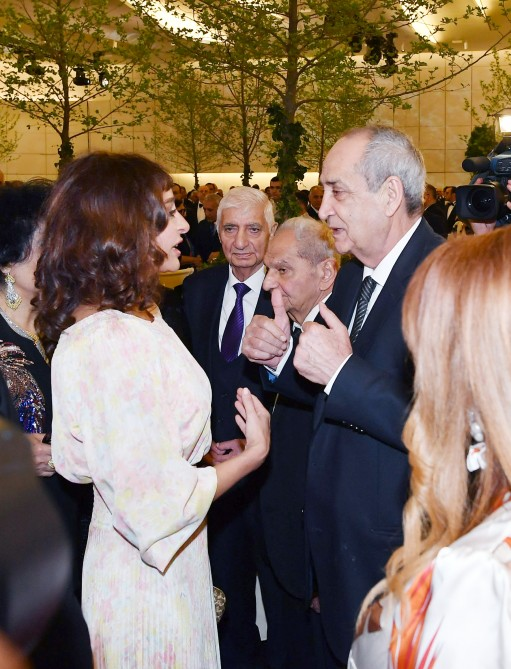 Solemn ceremony to mark 96th anniversary of national leader Heydar Aliyev and 15th anniversary of Heydar Aliyev Foundation held  President Ilham Aliyev and first lady Mehriban Aliyeva attended the ceremony VIDEO