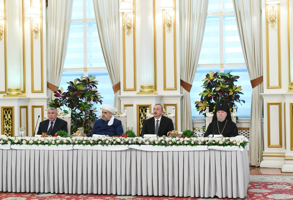 President Ilham Aliyev attended Iftar ceremony on the occasion of holy month of Ramadan VIDEO
