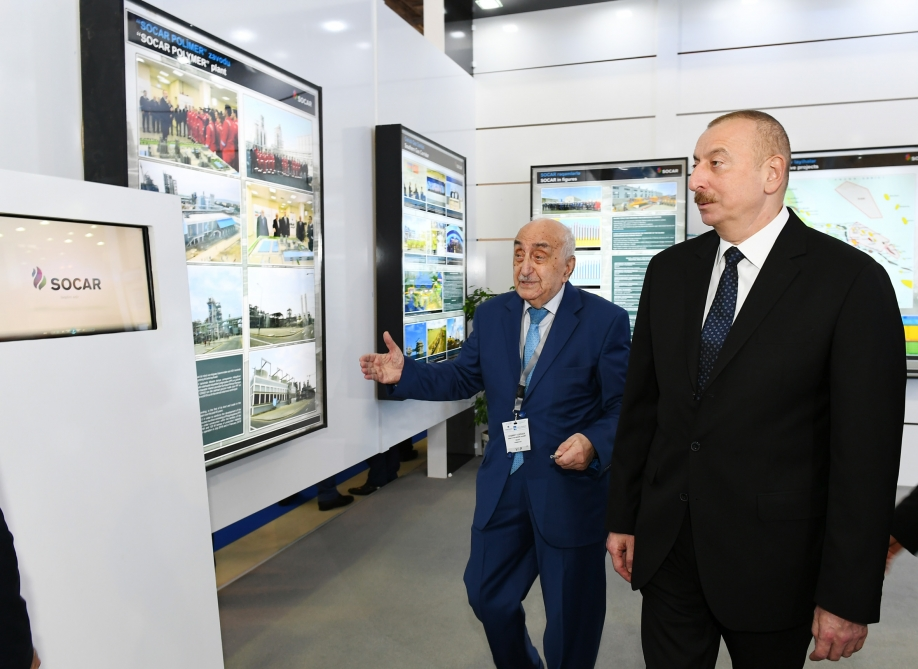 Le président Ilham Aliyev participe à l'ouverture du 26e Salon international Caspian Oil & Gas VIDEO