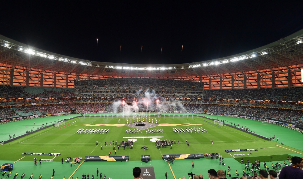 Chelsea won UEFA Europa League final at Baku Olympic StadiumPresident Ilham Aliyev watched the final match VIDEO