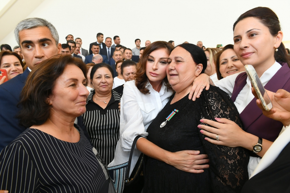 First Vice-President Mehriban Aliyeva attended event with IDPs VIDEO