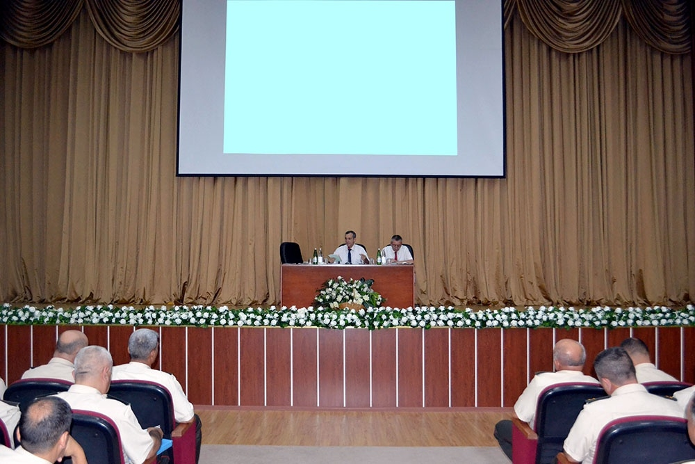 Defense Ministry: Seminar held with officers for ideological work and moral-psychological support
