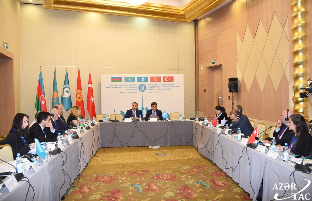 7th Meeting of Turkic Council Working Group on Cooperation in Media and Information sphere held in Baku