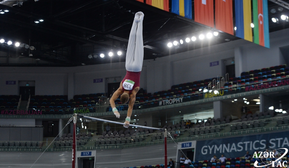 Ukraine and Russia clinch gold in artistic gymnastics