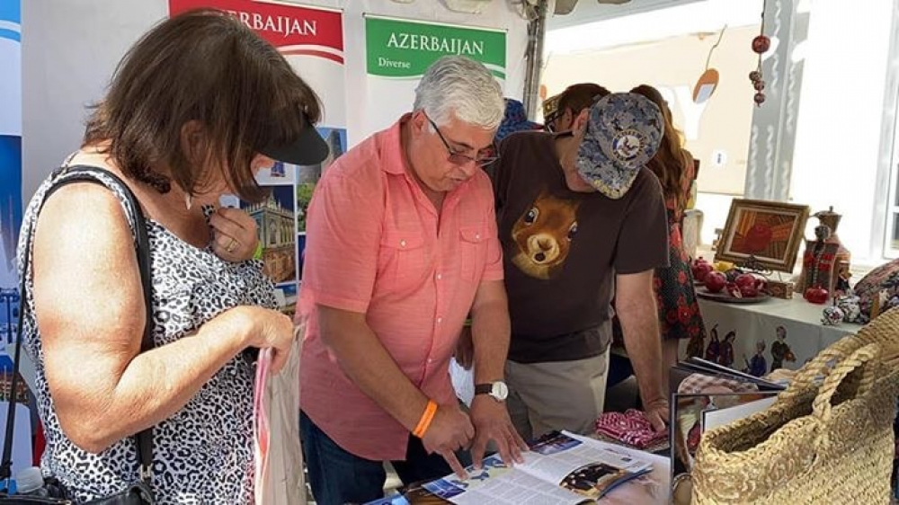 "Azerbaijan featured at ""Irvine Global Village Festival"" in California"