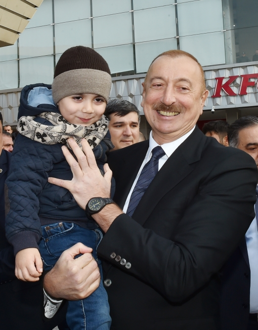 President Ilham Aliyev attended opening of Sabunchu-Pirshaghi line of Baku circular railway after reconstruction VIDEO