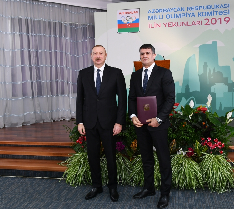 President Ilham Aliyev attended ceremony dedicated to 2019 sporting results VIDEO