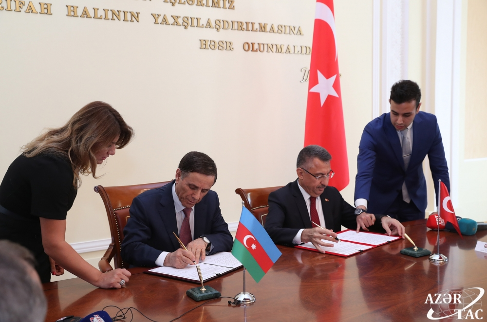 Baku hosts 8th meeting of Azerbaijan-Turkey Joint Intergovernmental Commission on economic cooperation