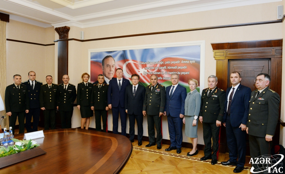 Azerbaijani, Russian military prosecutor's offices explore prospects for closer cooperation